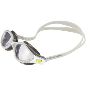 speedo Futura Biofuse Flexiseal Goggle Women USA Charcoal/Cool Grey/Clear